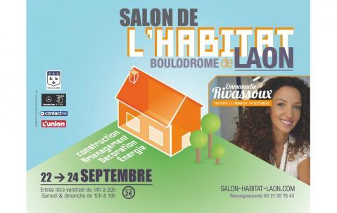 <b>Salon De L'habitat Et De L'immobilier</b> à <b>Laon</b><br>du 22/09/2017 au 24/09/2017