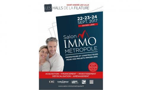 Salon De L'immobilier à Lille du 22/09/2017 au 24/09/2017