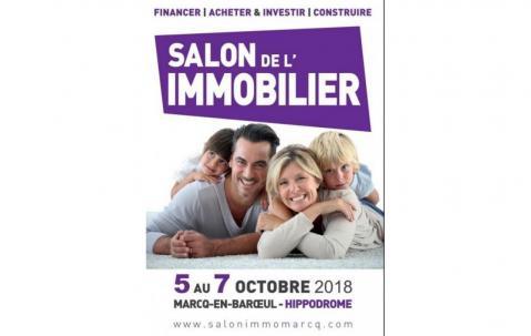 Salon De L'immobilier à Marcq-en-baroeul (59700) du 05/10/2018 au 07/10/2018
