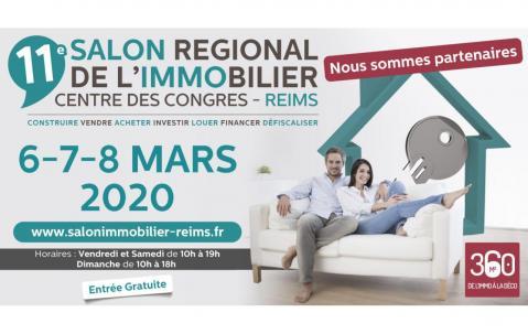 Salon De L'immobilier à Reims du 06/03/2020 au 08/03/2020