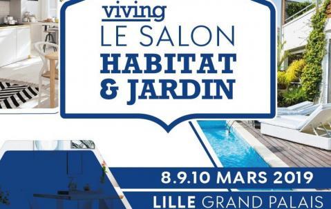 Salon Habitat Et Jardin à Lille (59000) du 08/03/2019 au 10/03/2019