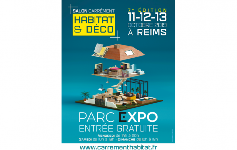 Salon Maison Deco à Reims (51100) du 11/10/2019 au 13/10/2019