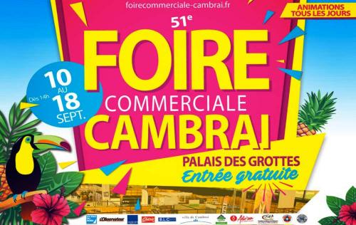 Foire Commerciale à Cambrai (59400) du 10/09/2016 au 18/09/2016