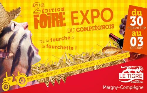 <b>Foire Exposition</b> à <b>Compiegne</b> du 30/09/2016 au 03/10/2016