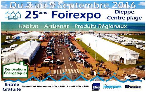 <b>Foire Exposition</b> à <b>Dieppe</b><br>du 03/09/2016 au 05/09/2016