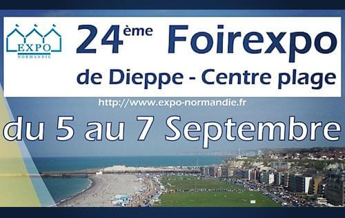 <b>Foire Exposition</b> à <b>Dieppe</b><br>du 05/09/2015 au 07/09/2015