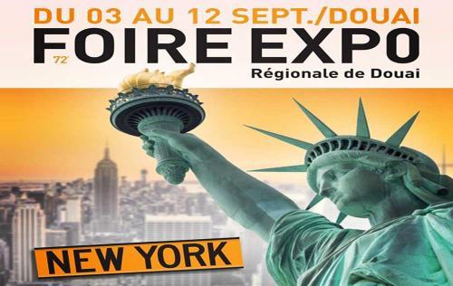 <b>Foire Exposition</b> à <b>Douai</b><br>du 03/09/2016 au 12/09/2016