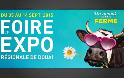 <b>Foire Exposition</b> à <b>Douai</b><br>du 05/09/2015 au 14/09/2015