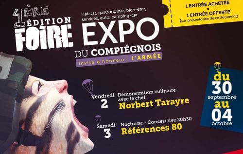 Foire Exposition à Margny-les-compiegne (60280) du 30/09/2015 au 04/10/2015
