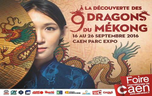 <b>Foire Internationale</b> à <b>Caen</b><br>du 16/09/2016 au 26/09/2016