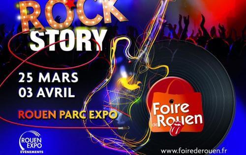 <b>Foire Internationale</b> à <b>Rouen</b><br>du 25/03/2016 au 03/04/2016