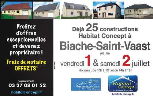 <b>Portes Ouvertes</b> à <b>Biache-saint-vaast</b><br>les 01/07/2016 et 02/07/2016
