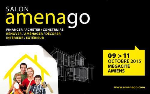 <b>Salon Amenago</b> à <b>Amiens</b><br>du 09/10/2015 au 11/10/2015