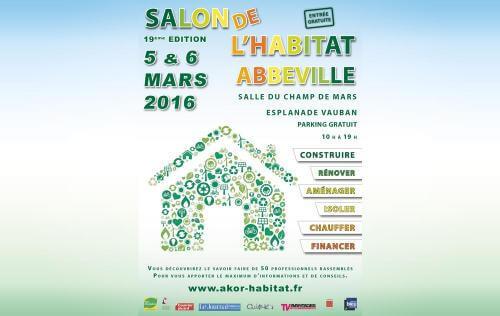 <b>Salon De L'habitat</b> à <b>Abbeville</b><br>les 05/03/2016 et 06/03/2016