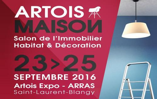 <b>Salon De L'habitat</b> à <b>Arras</b><br>du 23/09/2016 au 25/09/2016