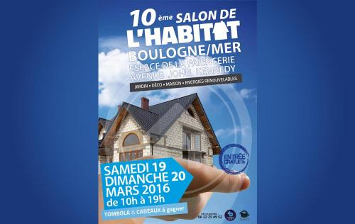 Salon De L'habitat à Boulogne-sur-mer (62200) les 19/03/2016 et 20/03/2016