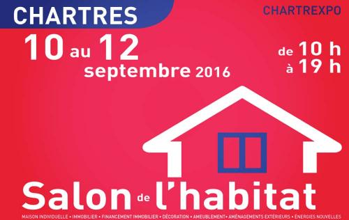 Salon De L'habitat à Chartres (28000) du 10/09/2016 au 12/09/2016