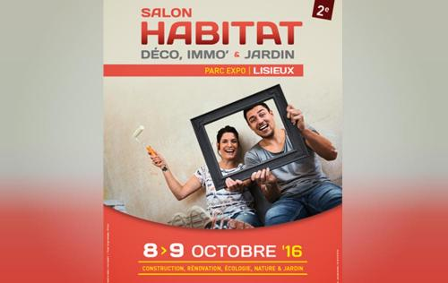 Salon De L'habitat à Lisieux (14100) les 08/10/2016 et 09/10/2016
