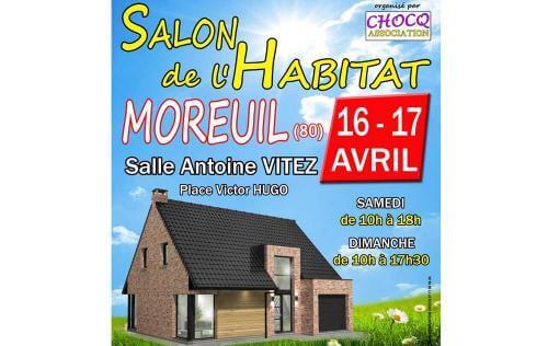 <b>Salon De L'habitat</b> à <b>Moreuil</b><br>les 16/04/2016 et 17/04/2016
