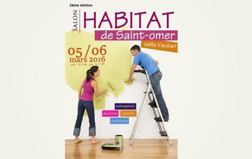 <b>Salon De L'habitat</b> à <b>Saint-omer</b><br>les 05/03/2016 et 06/03/2016