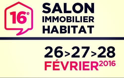 Salon De L'habitat Et De L'immobilier à Valenciennes (59300) du 26/02/2016 au 28/02/2016
