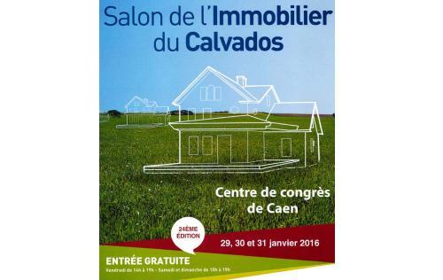 Salon De L'immobilier à Caen (14000) du 29/01/2016 au 31/01/2016