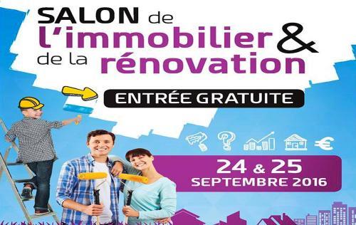 <b>Salon De L'immobilier</b> à <b>Evreux</b><br>les 24/09/2016 et 25/09/2016