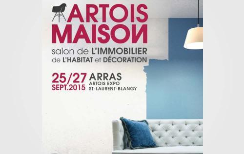 <b>Salon De L'immobilier De L'habitat Et De La Decoration</b> à <b>Arras</b><br>du 25/09/2015 au 27/09/2015