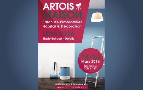 Salon De L'immobilier De L'habitat Et De La Decoration à Lens (62300) du 18/03/2016 au 20/03/2016