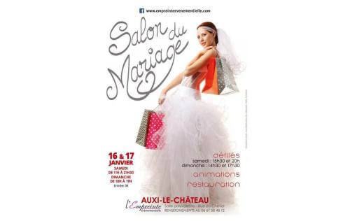 <b>Salon Du Mariage</b> à <b>Auxi-le-chateau</b><br>les 16/01/2016 et 17/01/2016
