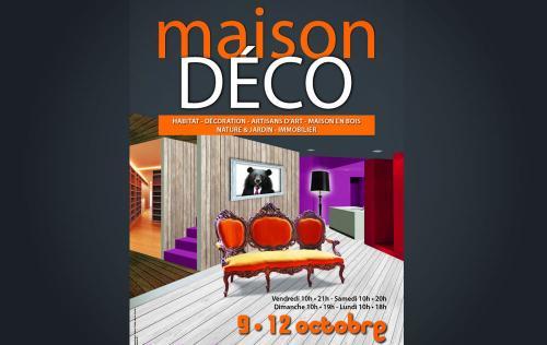 <b>Salon Maison Deco</b> à <b>Le Grand-quevilly</b><br>du 09/10/2015 au 12/10/2015