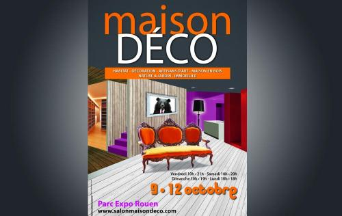 <b>Salon Maison Deco</b> à <b>Rouen</b><br>du 07/10/2016 au 10/10/2016
