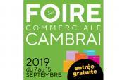 Foire Commerciale à Cambrai du 07/09/2019 au 15/09/2019