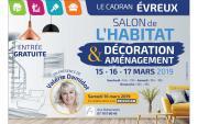 Salon De L'habitat à Evreux du 15/03/2019 au 17/03/2019