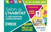 Salon De L'habitat Et De La Deco à Evreux du 13/03/2020 au 15/03/2020