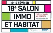 Salon De L'habitat Et De L'immobilier à Aulnoy-lez-valenciennes du 16/02/2018 au 18/02/2018