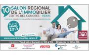 Salon De L'immobilier à Reims du 08/03/2019 au 10/03/2019