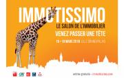 Salon Immotissimo à Lille du 16/03/2018 au 18/03/2018