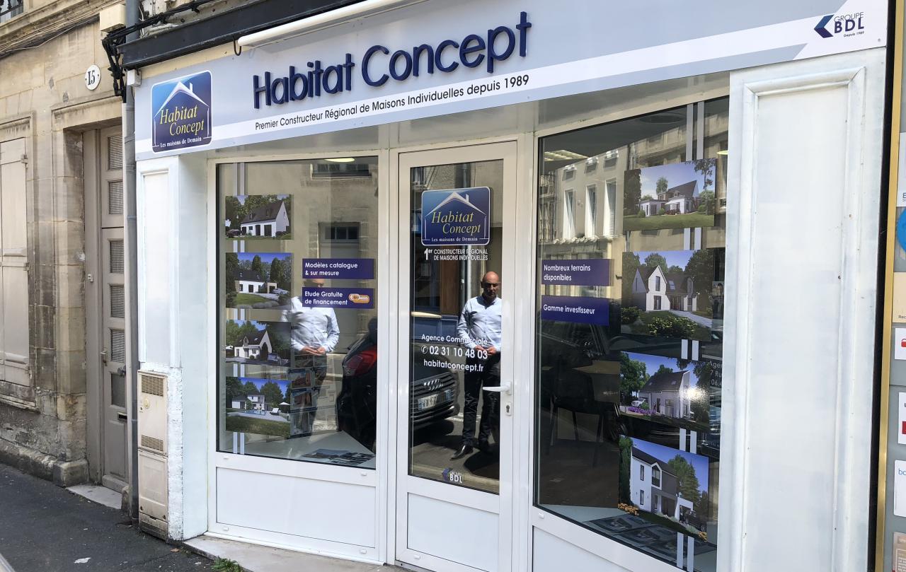 Agence Habitat Concept Bayeux.