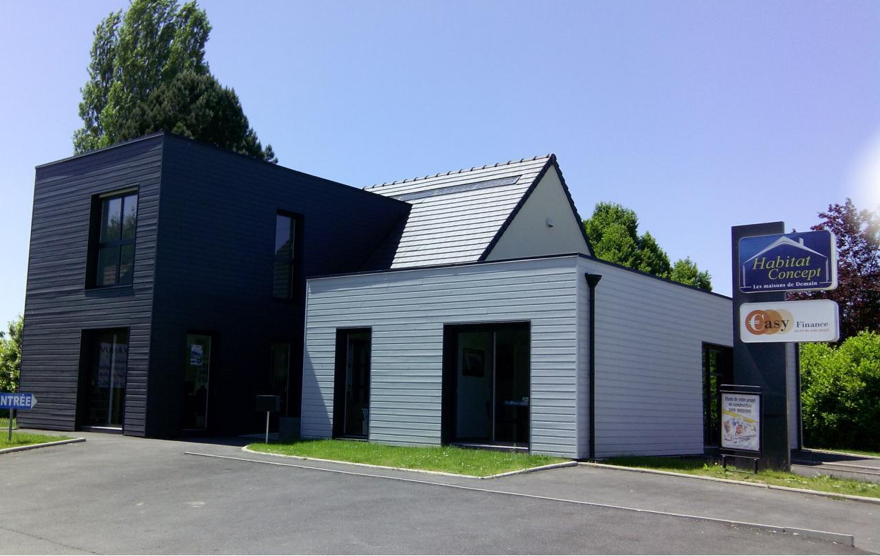 Constructeur Maison Ossature Bois 76 agence construction maison boos (76) - habitat concept