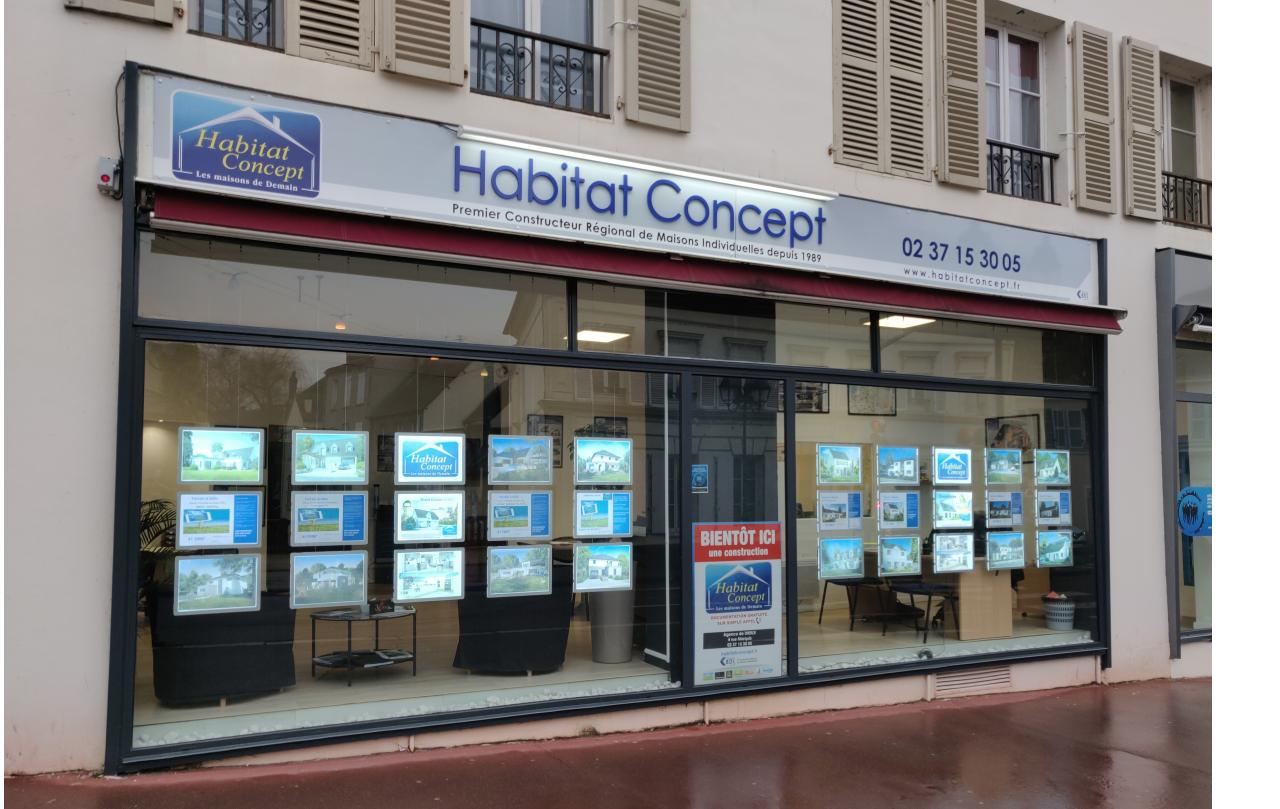 Latest agence habitat concept dreux with agence maison for Agence location maison
