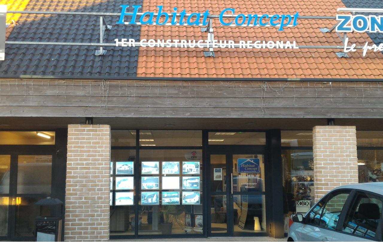 Agence Habitat Concept Saint Omer.