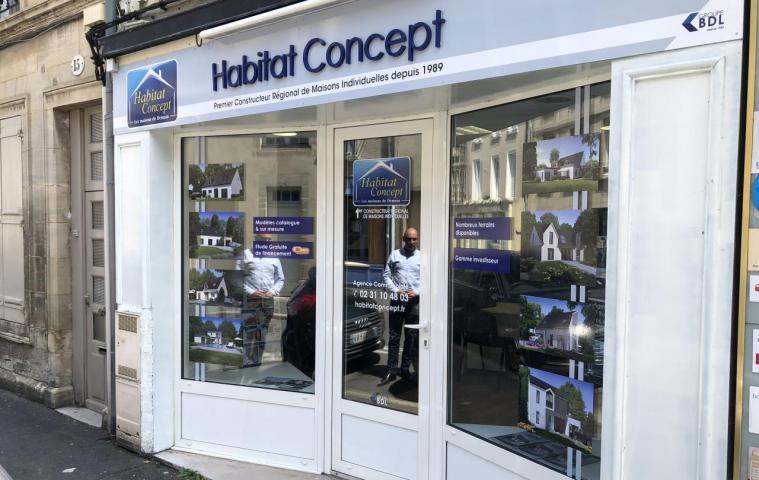 Agence construction maison Bayeux (14) Habitat Concept