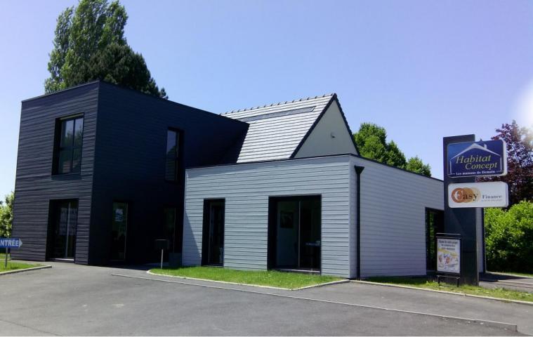 Agence construction maison Boos (76) Habitat Concept