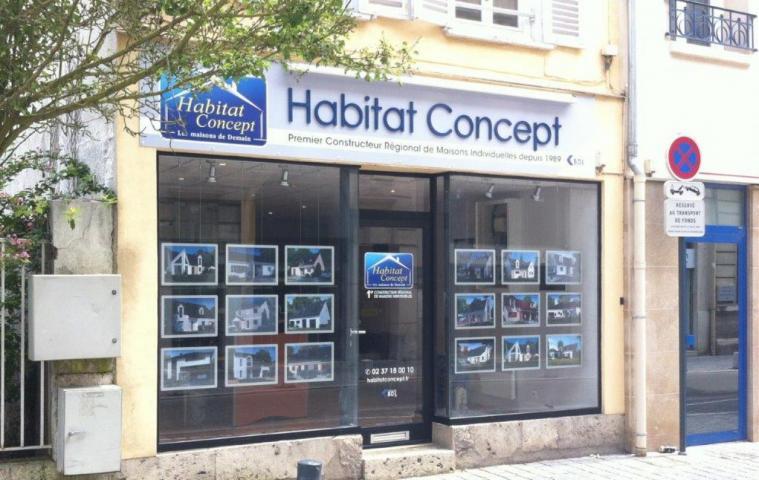 Agence construction maison Chartres (28) Habitat Concept