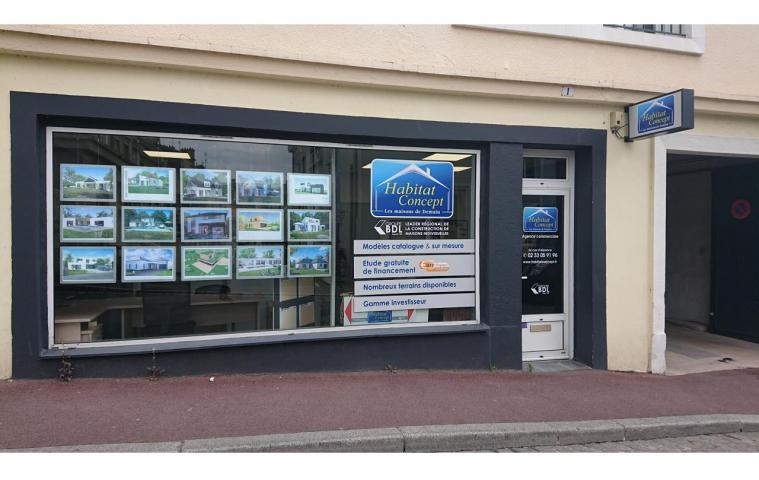 Agence construction maison Saint-lo (50) Habitat Concept