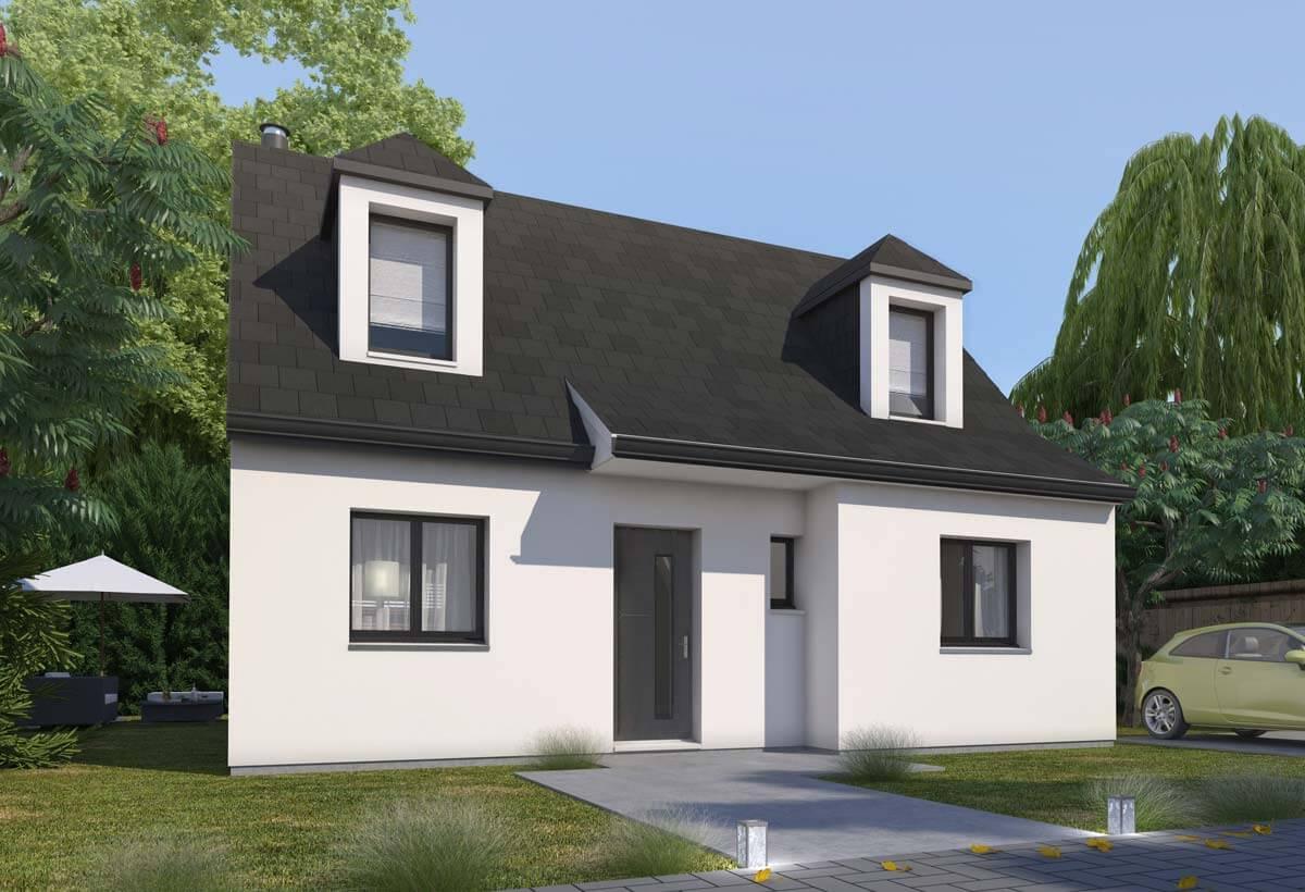 Plan maison 3 chambres HC 05
