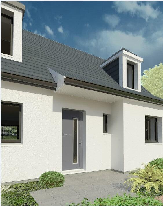 Rendu 5 de la maison individuelle Habitat Concept 05