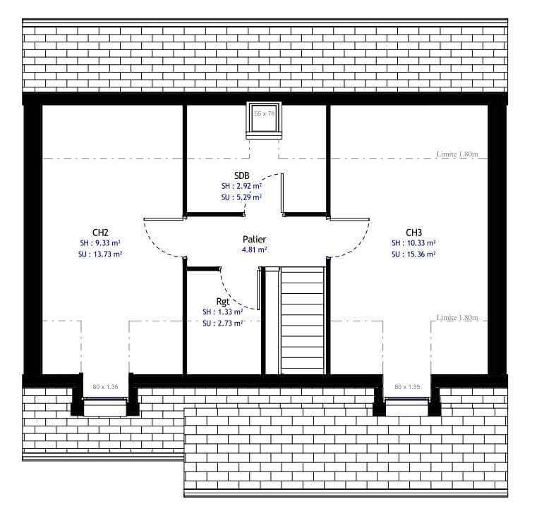 Plan De Maison 3 Chambres Modele Residence Picarde 05 Residences Picardes