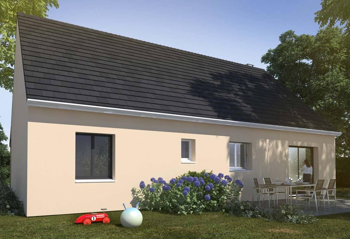 Rendu 2 de la maison individuelle Lesmaisons.com 102